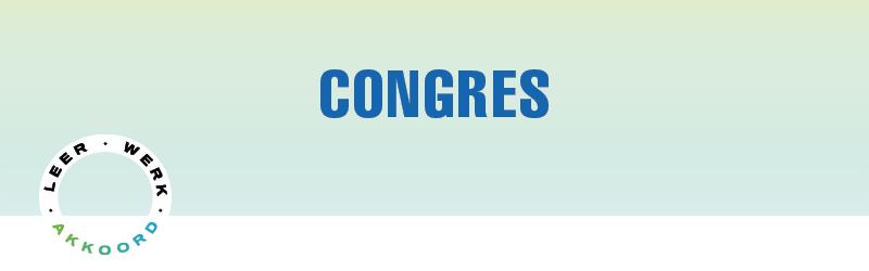 Congres Leven Lang Ontwikkelen